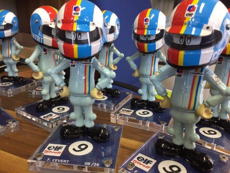 lot de figurine Francois Cevert