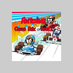 Antoine au Grand Prix de France
