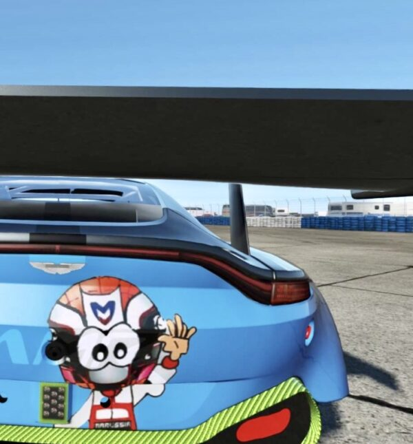 Modele de art cars sur arrière de voiture