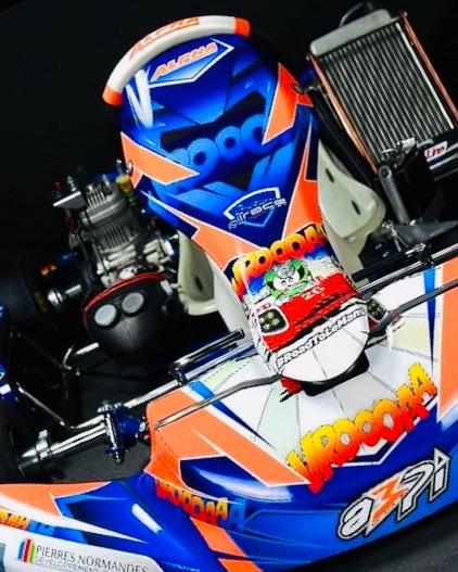 Déco Karting vue de devant