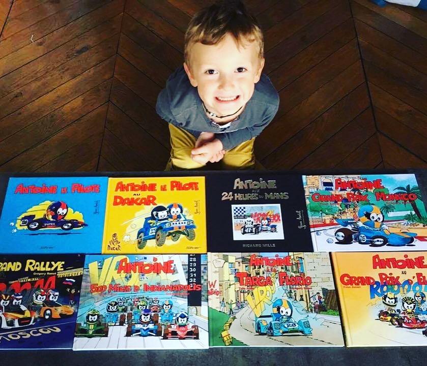 collection complète des albums de Antoine le Pilote