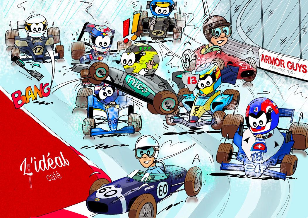 F1 - Idée cadeau : Antoine le pilote au Grand Prix de Monaco
